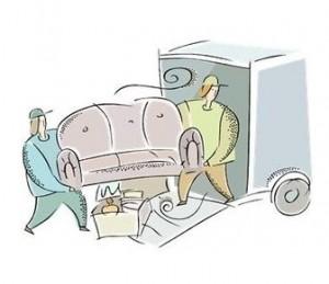 家具の発送方法